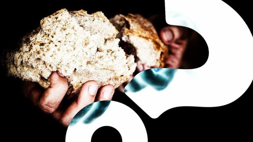 焦げたパンからの炭素泡は多くの生地を節約することができます