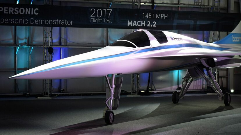 Supersonic Travel Could Be Coming Back Carousel: Boom XB-1; Video: Fw:Thinking