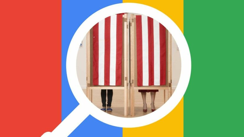 A new study suggests Google rankings could affect how people vote. BlendImages/GettyImages