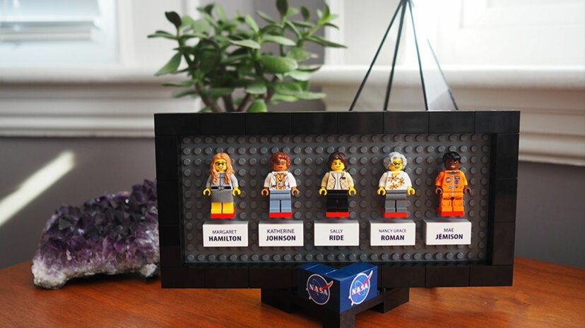 The newest fan-proposed Lego set will feature pioneering women involved in the NASA space program. Maia Weinstock/Flickr