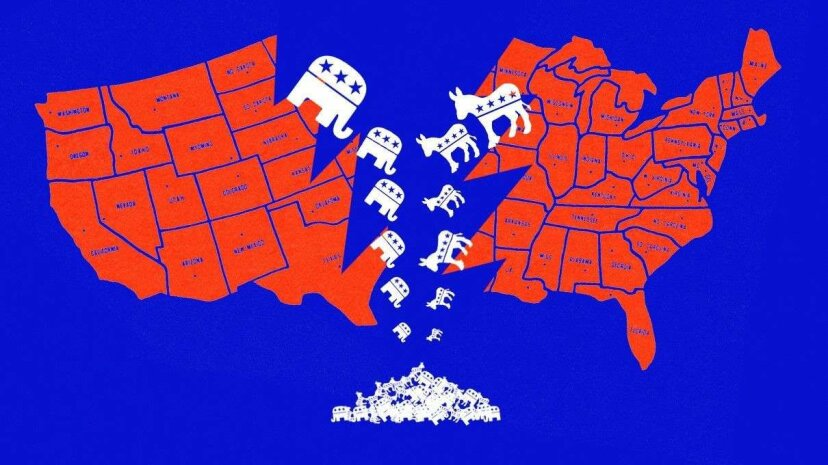 The polarization that has dominated U.S. politics for the past decade or so doesn't seem as if it's going away anytime soon. CSA Images/HowStuffWorks