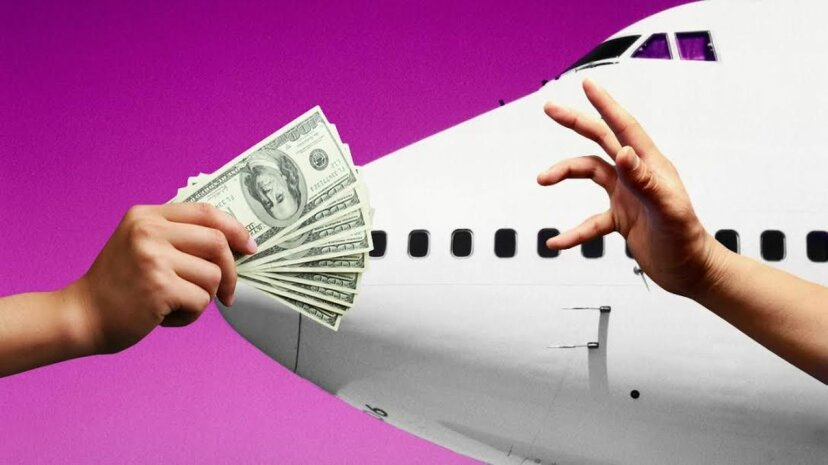 あなたの飛行をぶち壊しましたか?一握りの現金は確かなことではありません