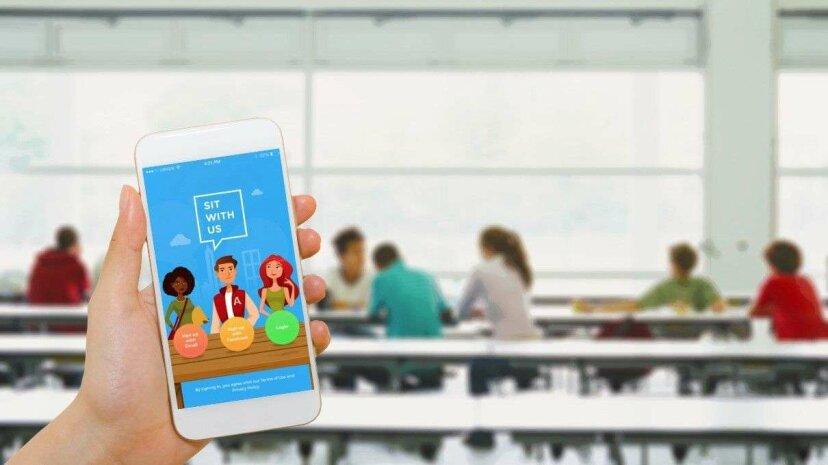 10代のデザインのアプリは、孤独な学校給食を終わらせる可能性があります