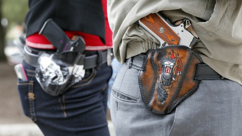 A new study shows that the likelihood of being shot increases when a person interacts with someone else who's been shot. Erich Schlegel/Getty Images