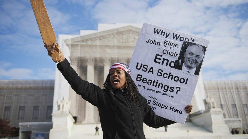 体罰は、その効果がないにもかかわらず、米国の学校で継続している