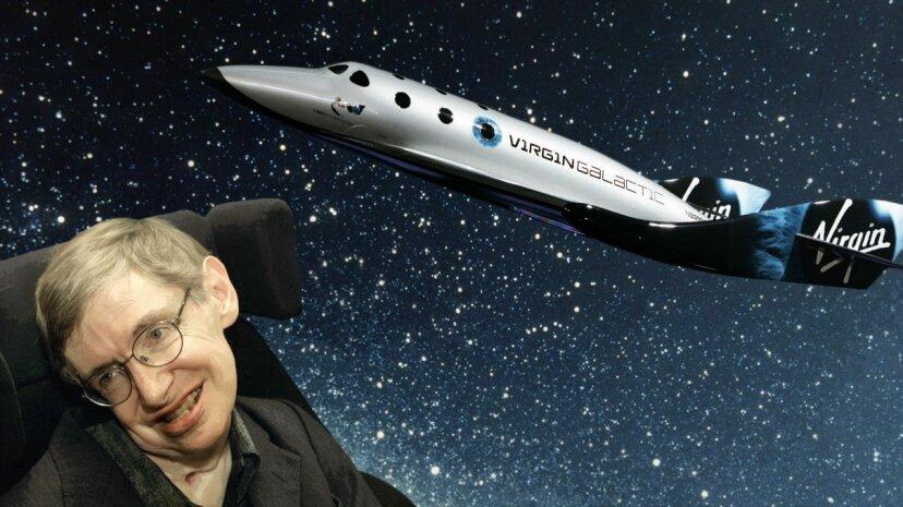 """Stephen Hawking sagt, """"ultimativer Ehrgeiz"""" ist es, in den Weltraum zu reisen"""