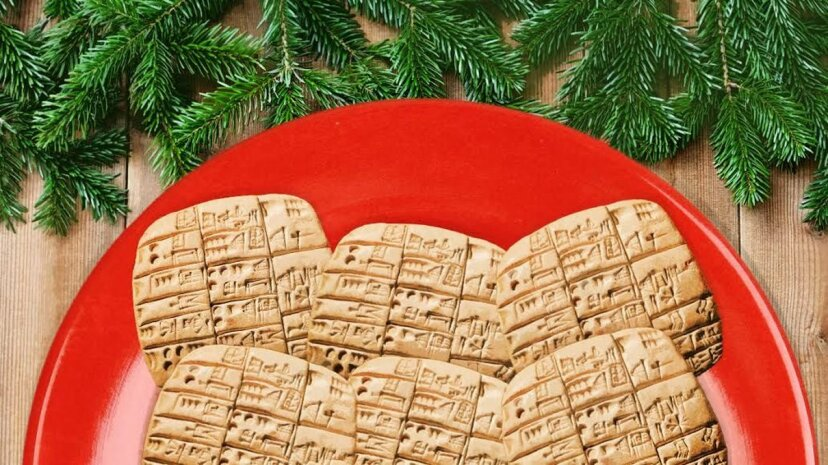 Cuneiform cookies may look ancient, but they taste delicious. Artisteer/Smiltena/Thinkstock/De Agostini/Getty