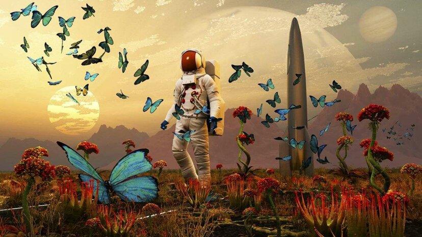 """Mars-Astronauten riskieren """"Weltraumhirn""""-Demenz durch kosmische Strahlung"""