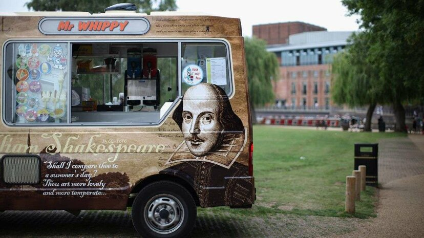 A few copies of Shakespeare's First Folio have been liberated from their very secure home in Folger Library and are touring the U.S. right now. Christopher Furlong/Getty Images