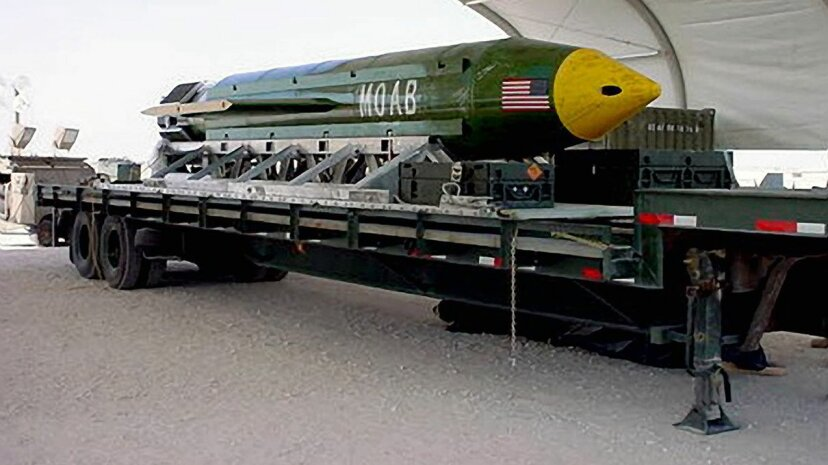 The U.S. dropped its first MOAB on a hilly region in Afghanistan on April 13, 2017 where ISIS fighters were thought to be hiding. Defense.gov