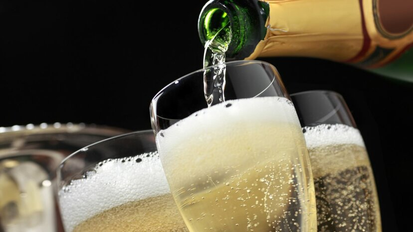 The process of creating sparkling wine is intricate, scientific and has been refined over centuries. DNY59/Getty Images