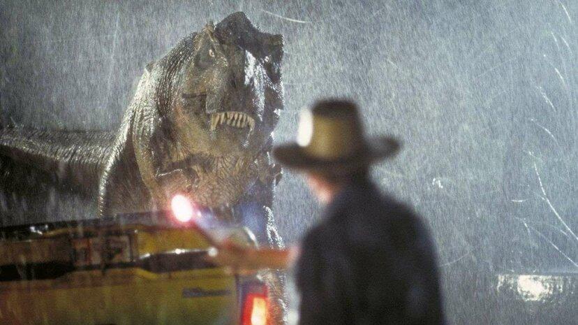 """Diese Erklärung ändert, wie Sie """"Jurassic Park"""" anzeigen."""