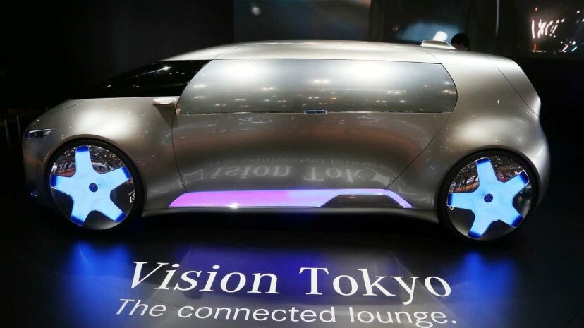 It looks like the future vehicle of choice for bachelorette parties and prom kids everywhere, doesn't it? HaruyoshiYamaguchi/Corbis