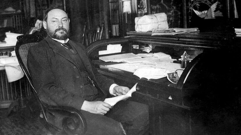 Harvey Wiley, the chemist and mastermind behind the Poison Squad LIbrary of Congress
