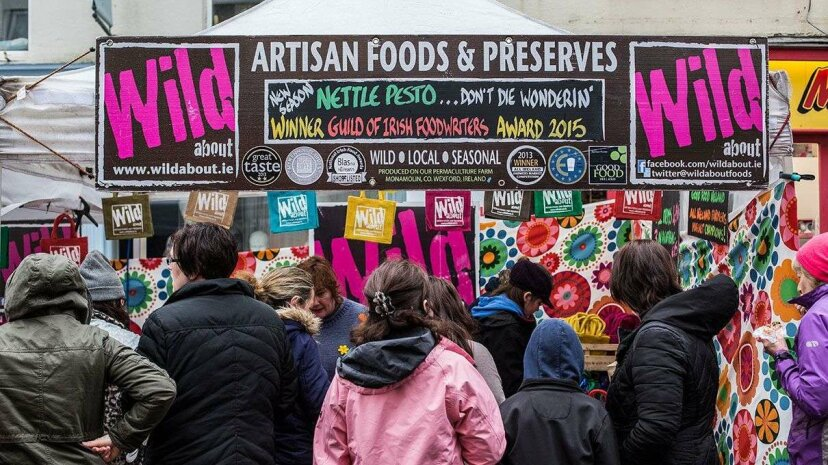 Artisan was a word you mainly saw at fairs like this. Now multinational corporations have co-opted it. Doug McKinley/Getty Images