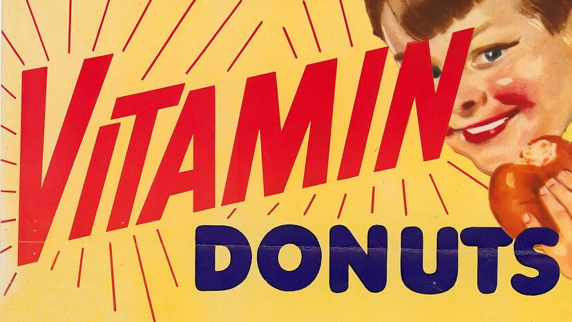 vitamin donuts, doughnuts
