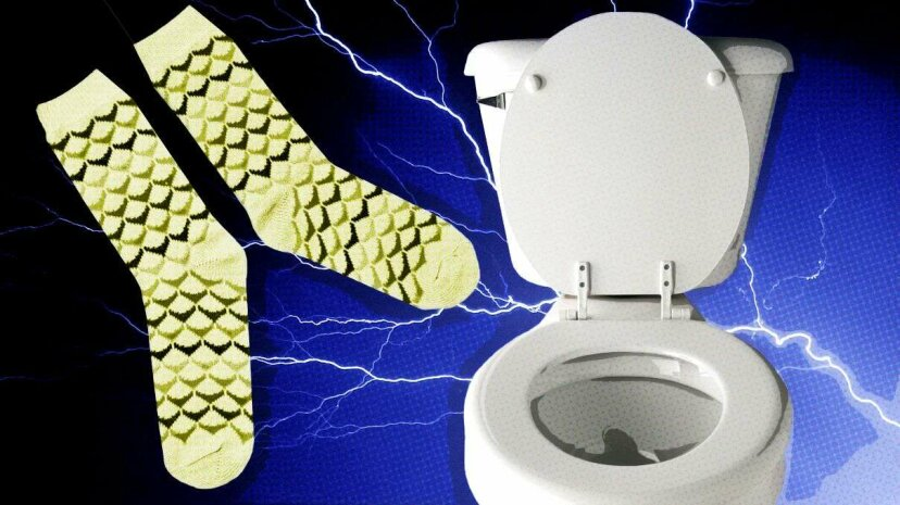 ¿Orinarías en tus calcetines para encender tu teléfono y salvar tu vida?