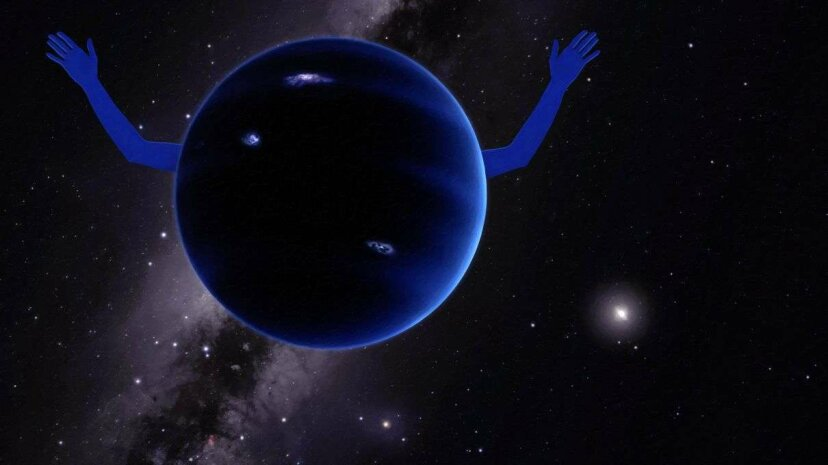 We may have found the ninth planet in our solar system. Caltech/R. Hurt/HowStuffWorks