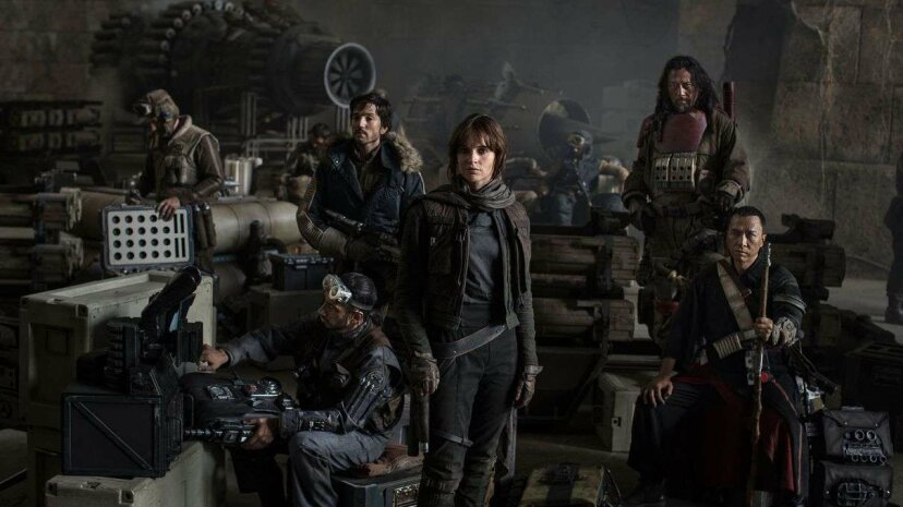 """""""Rogue One"""" stars Felicity Jones as scrappy rebel Jyn Erso. Lucasfilm, Ltd."""