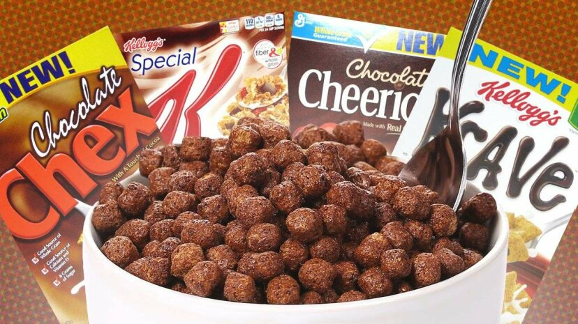 Why the explosion in chocolate on the cereal aisle? It may not have to do with kids... Indigolotos/Thinkstock/Flickr Commons/Kellogg's/General Mills