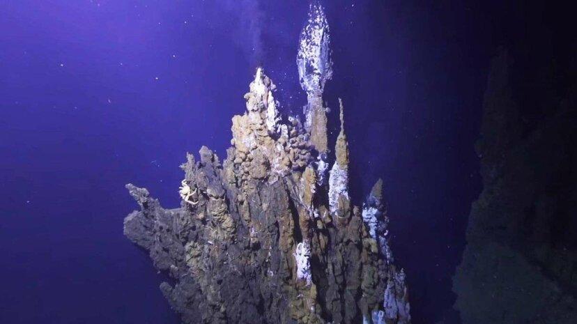Entdecken Sie die thermischen Entlüftungsöffnungen des tiefen Ozeans mit diesem 3-D-Video zur virtuellen Realität