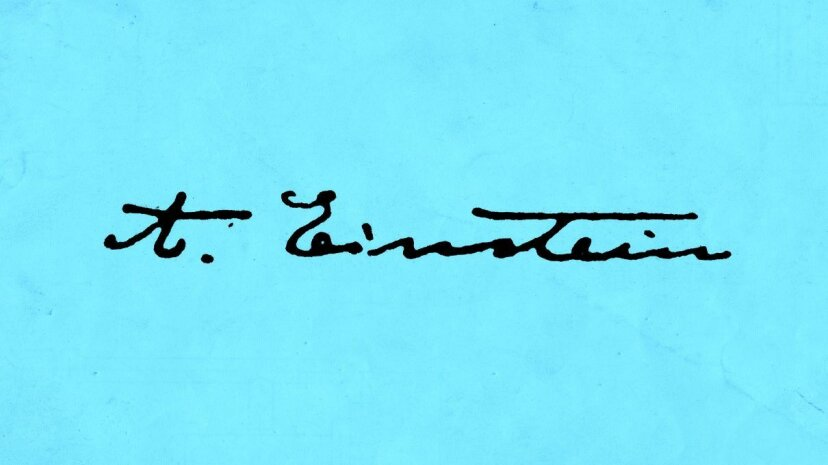 What would Einstein think about graphology? Universal History Archive/UIG via Getty Images