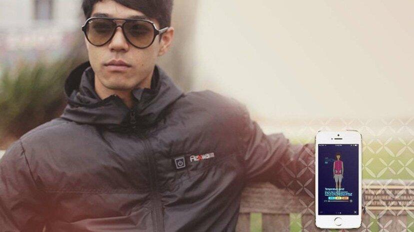 Diese 'Smart Jacket' weiß, welche Temperatur Sie diesen Winter warm hält