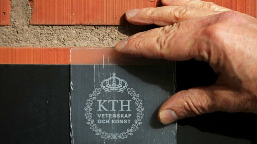 Swedish researchers have developed a process to remove wood's lignin, creating a wood that lets 85 percent of light through. KTH Royal Institute of Technology