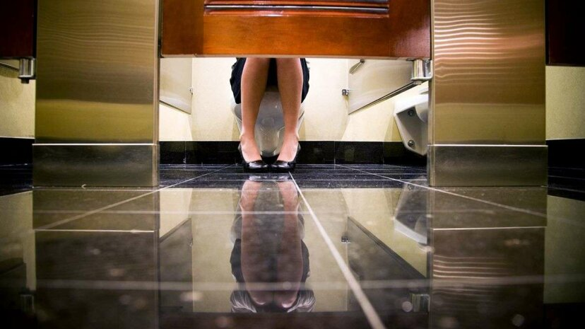 Anxiety over using a public bathroom affects some, but not others. Why is that? Joey Boylan/Getty Images