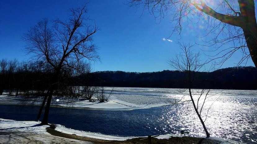 Lakes near roadways across North America are experiencing increased salinity due to de-icing runoff. Christie Richwalski/EyeEm/Getty Images