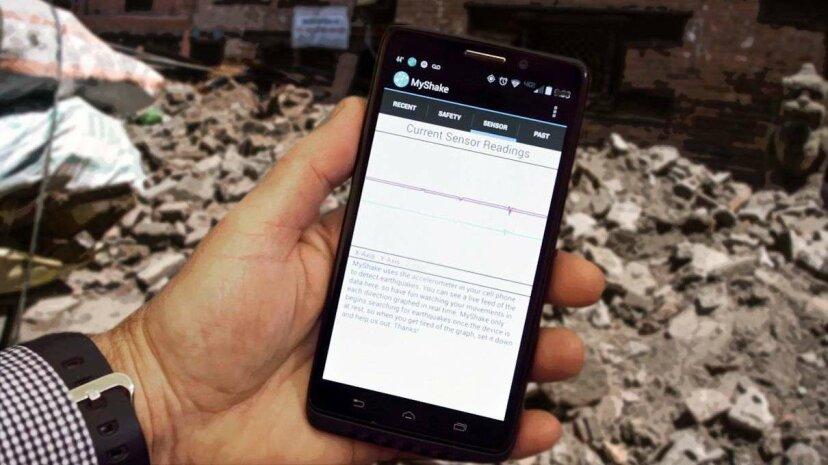Die App, die ein Erdbeben-Frühwarnnetzwerk erstellt