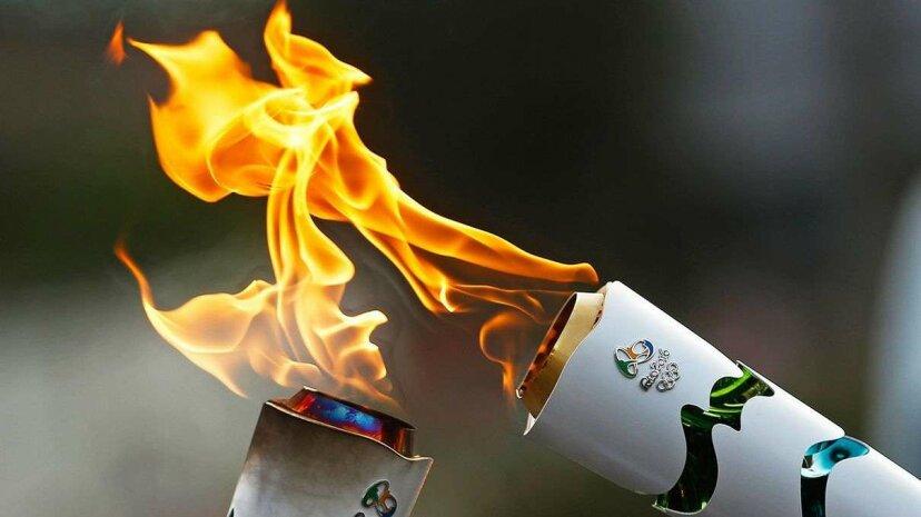 Was passiert, wenn die olympische Fackel versehentlich erlischt?