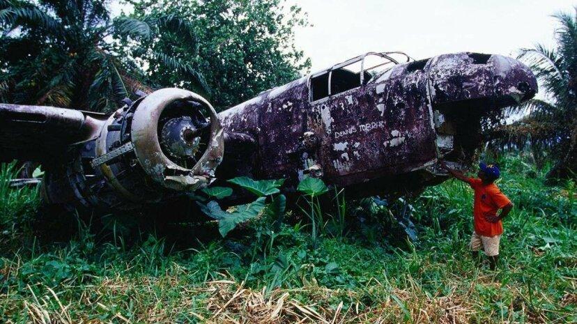 Las misteriosas ruinas de un avión en todo el mundo atraen a los cazadores de restos