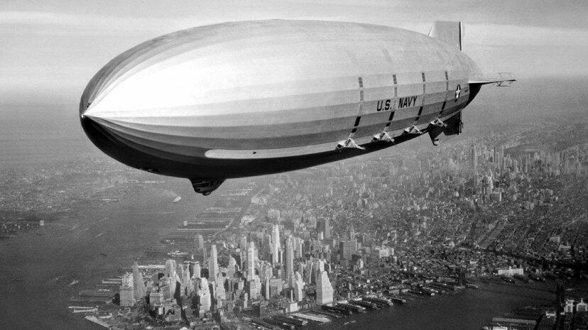 ばかげた歴史:米海軍は飛行船として飛行船を使用しました