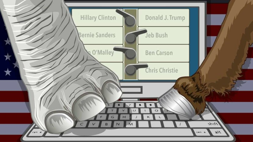 What if you could vote from the comfort of your home? (c) 2016 HowStuffWorks