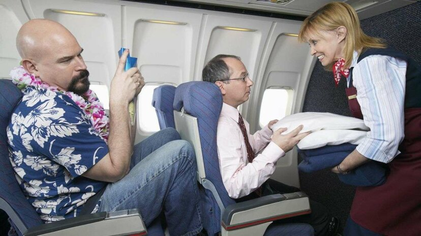 A new study examines how the presence of a first class cabin affects incidences of air rage. Digital Images/Getty Images