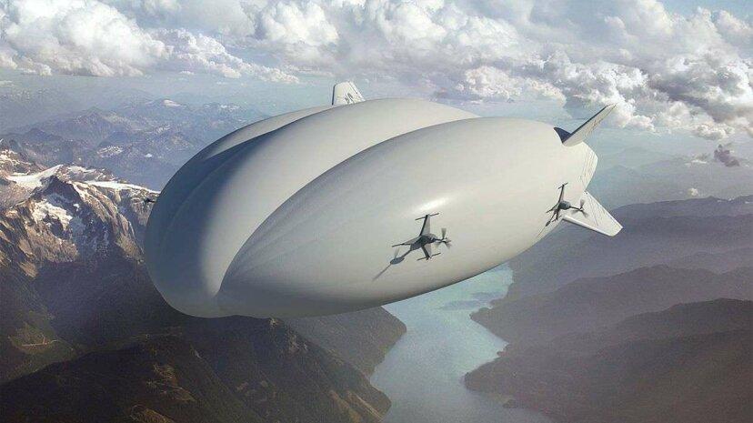 La FAA acaba de aprobar un dirigible híbrido, pero ¿qué es eso exactamente?