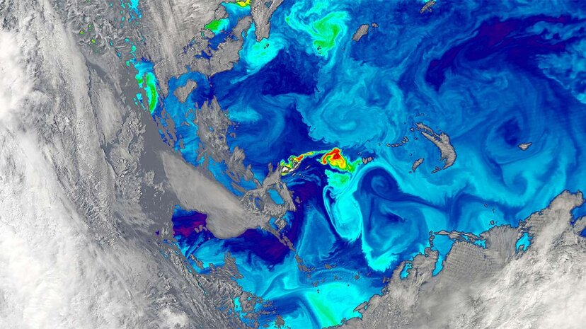 Warum hat der Ozean an verschiedenen Orten unterschiedliche Farben?