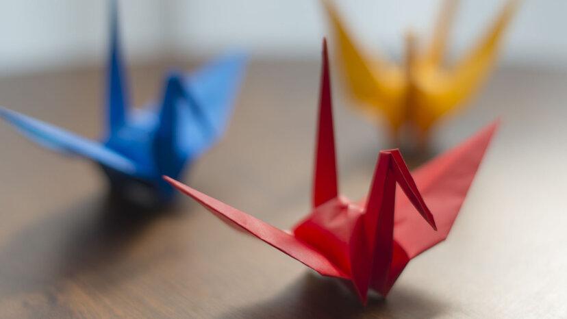 折り紙の動物の作り方