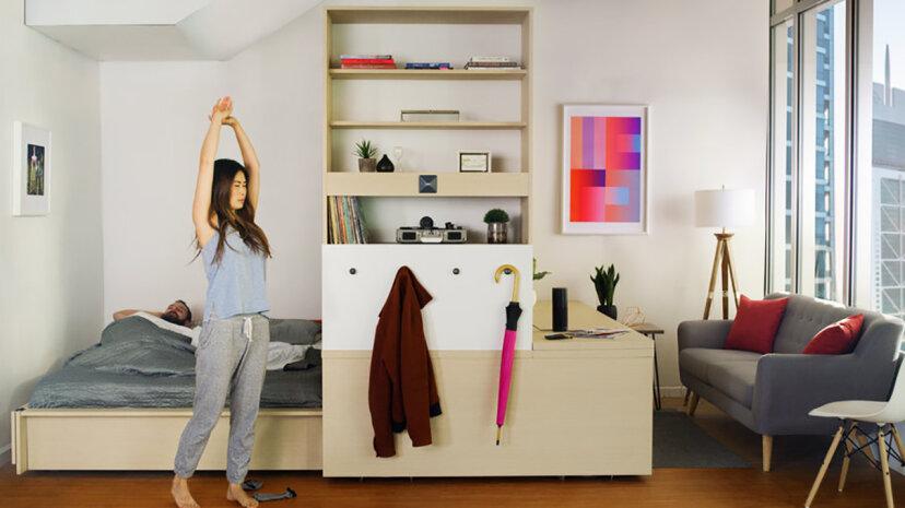 Jetzt können Sie tatsächlich in MITs $ 10K Robotic Apartment in einer Box leben