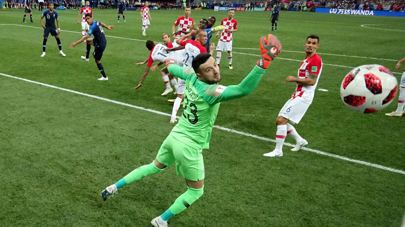 Own goal during 2018 World Cup final