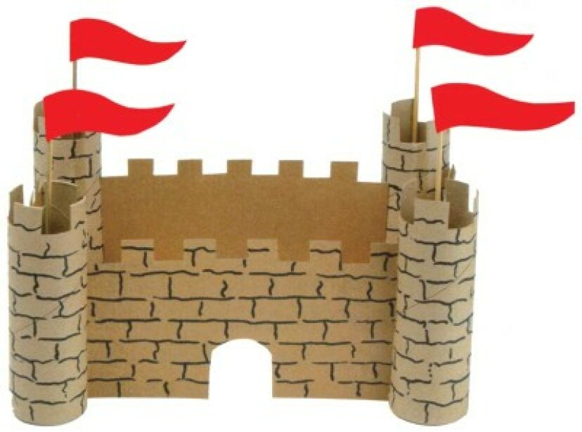 子供のための紙の城を作る方法