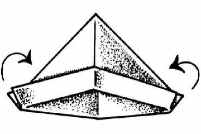 ペーパーセーラーハットの作り方