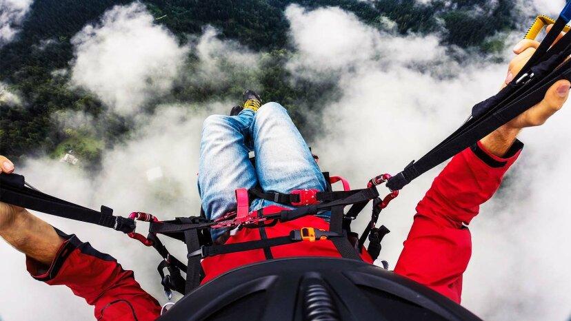 パラシュートが故障した場合はどうなりますか?