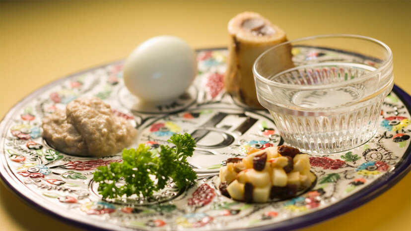 Seder plate, Passover