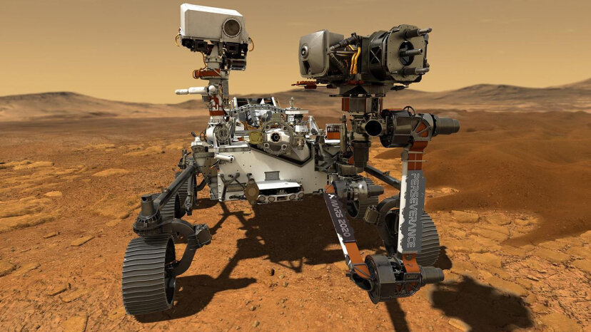 Perseverance Rover en busca de signos de vida en el antiguo marciano