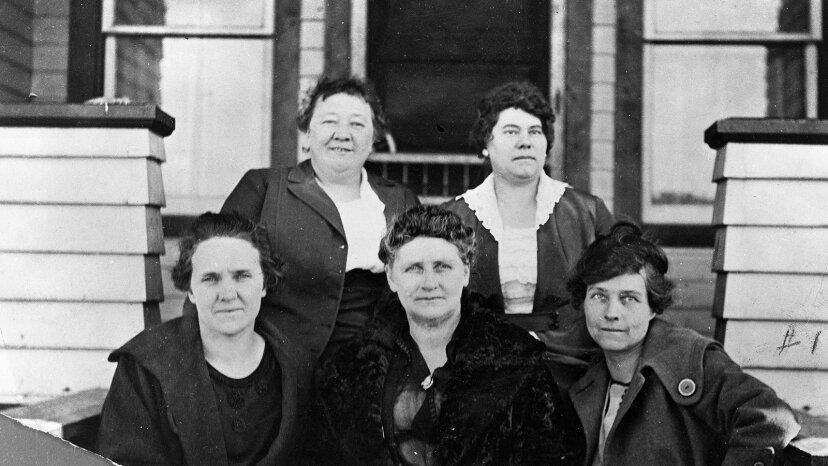 Los 'gobernantes de la enagua' gobernaban una ciudad fronteriza de Wyoming en la década de 1920