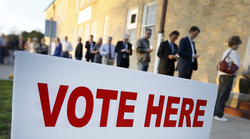 voting, election, election day polling