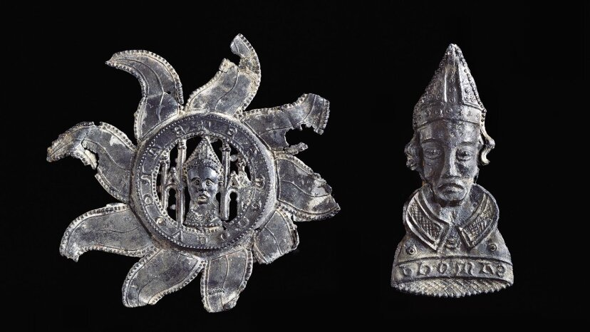 中世の巡礼者がペストを防ぐためにバッジを身に着けていたとき