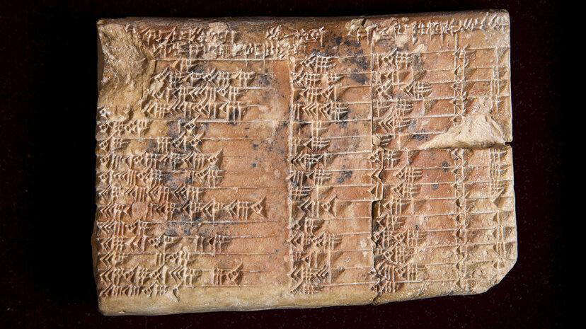the Mesopotamian artifact known as Plimpton 322